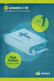 ABC: High School Student Guide Year 1 (KJV): Unit 1