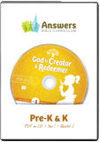 ABC: Preschool Teacher Kit Y1 Q2: PDF on CD
