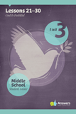 ABC: Middle School Student Guide Year 1: Unit 3