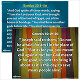 ABC Sunday School: Memory Verse Posters - Grades 1–6 Y1 Q4: Quarter 4