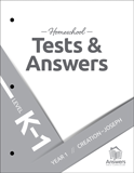 ABC Homeschool: K-1 Tests and Answers: Year 1