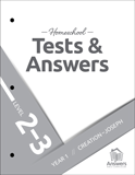 ABC Homeschool: 2-3 Tests and Answers: Year 1