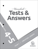ABC Homeschool: 4-5 Tests and Answers: Year 1