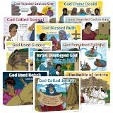 ABC Sunday School: Lesson Theme Posters - Grades 1-6: Quarter 1