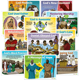 ABC Sunday School: Lesson Theme Posters - Grades 1-6: Quarter 4