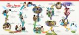 ABC: Life of Jesus Timeline Poster