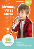 ABC: Contemporary Memory Verse Music Leader Pack: Units 1-5
