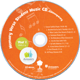 ABC: Contemporary Memory Verse Student Music CD Year 1: Single Copy