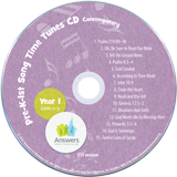 ABC: Pre-K – Grade 1 Contemporary Song Time Tunes CD Year 1: Single Copy