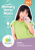 ABC: Contemporary Memory Verse Music Leader Pack: Units 6-10