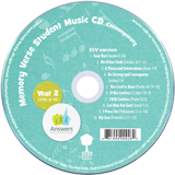 ABC: Contemporary Memory Verse Student Music CD Units 6-10: 10 Pack