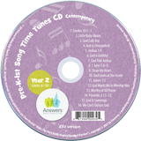 ABC: Pre-K – Grade 1 Contemporary Song Time Tunes CD Units 6-10: 10 Pack