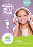 ABC: Contemporary Memory Verse Music Leader Pack: Units 11-15