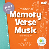 ABC: Traditional Memory Verse Student Music CD Units 1-5 (KJV): Download
