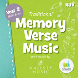 ABC: Traditional Memory Verse Student Music CD Units 6-10 (KJV): Download