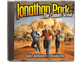 Jonathan Park Vol. 8: The Copper Scroll MP3 CD