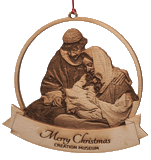 Celebration in Time: Creation Museum Ornament