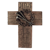 Jesus Crown of Thorns Cross