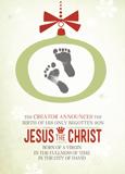 The Creator Announces the Birth Christmas Cards