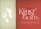 A King Is Born Christmas Cards