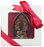 Bronze Nativity Ornament