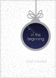 In the Beginning God Created Christmas Cards