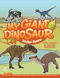 My Giant Dinosaur Sticker Sheets