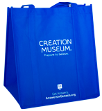 Ark Encounter/Creation Museum Tote Bag: Blue