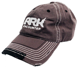 Ark Encounter Frayed Cap - Charcoal