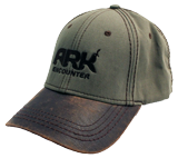Ark Encounter Leather Cap - Sage