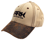 Ark Encounter Leather Cap - Khaki