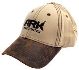 Ark Encounter Leather Cap - Khaki