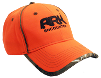 Ark Encounter Camo Cap - Orange/Brown Camo