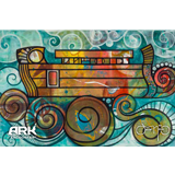 Oscar Ark on the Waves Postcard