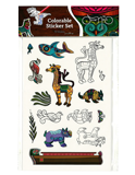 Oscar Kids Colorable Sticker Set