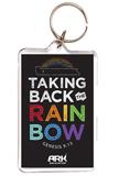 Taking Back the Rainbow Keychain