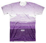 Ark Landscape T-shirt: Purple Large
