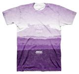 Ark Landscape T-shirt: Purple Large