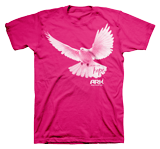 Ark Dove T-shirt: Pink Large