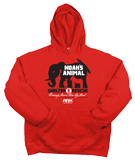 Shelter & Rescue Hoodie: Red Large