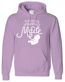 Fearfully & Wonderfully Made Hoodie: Purple Small