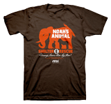 Shelter & Rescue T-shirt: Brown Large