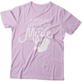 Fearfully & Wonderfully Made T-shirt: Purple Medium
