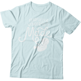 Fearfully & Wonderfully Made T-shirt: Blue Small