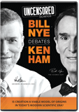 Uncensored Science: Bill Nye Debates Ken Ham: DVD with Bonus DVD