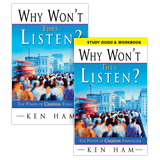 Why Won't They Listen Book & Study Guide Combo: Book with Study Guide