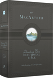 ESV MacArthur Drawing Near Devotional Bible