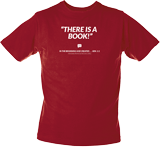 There Is A Book T-Shirt: Adult M