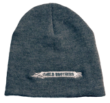 The Wild Brothers Beanie Hat: Gray