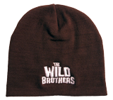 The Wild Brothers Beanie Hat: Brown